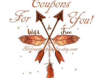 Coupon codes for multipule purchases from SLR Free Spirit Jewelry