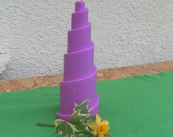 Spiral candle rapeseed wax and Palm-GMO