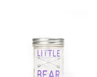 Little Bear Drinking Jar