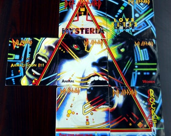Def Leppard - Hysteria Singles Complete Collection - 45rpm - 1987