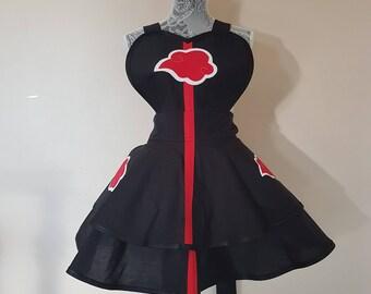 Naruto Shippuden Akatsuki - cosplay apron