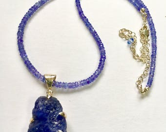 Tanzanite Quartz Necklace