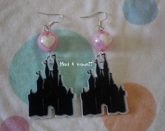 Princess Castle earrings