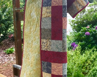 Handmade Quilt - Sunset at the Beach