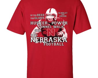 Nebraska Cornhuskers Football Traditions Unisex Tee Shirt Officially Licensed Nebraska Husker Gear And Game Day Apparel By CornBorn