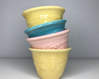 set of four Genuine Oven Serve Ware custard cups made in USA