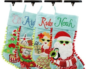 Personalised Beach Stocking and Hanger Value Pack