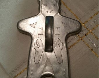 Gingerbread Policeman Vintage Cookie Cutter