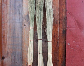 Cobweb Broom with Speckled Alder Handle