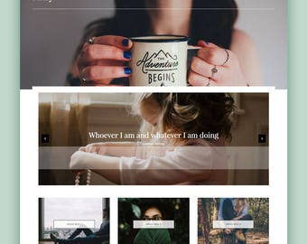 "Classic Blogger Template - ""Mary"" 