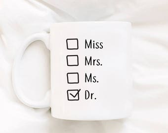 Funny Doctor Mug Doctor Gift Doctor Gift For Her Doctor Woman Gift Doctor Girl  Doctor Wife Doctor Present for Doctor Appreciation Funny