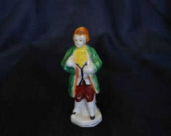 Vintage Victorian Era Male Figurine, Miniature