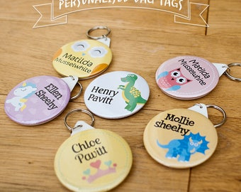 2 * Personalised Bag Tags