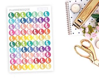 70 Pregnancy Stickers - MCI 0036
