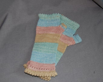 Cozy fingerless gloves ~ Ready to ship ~ Size large