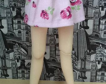 Skirt fold skirt for MSD minifee clothes for doll