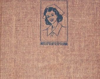 "Cherry Ames ""Night Supervisor"" - Vintage Youth / Adult Series Reading Book - Number 11 in Series - Original Tweed Edition"