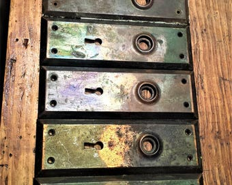 Antique Rectangle Door Plates