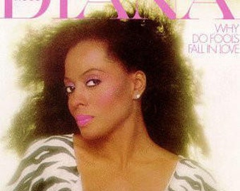 """Diana Ross - """"Why Do Fools Fall In Love"""" vinyl"""