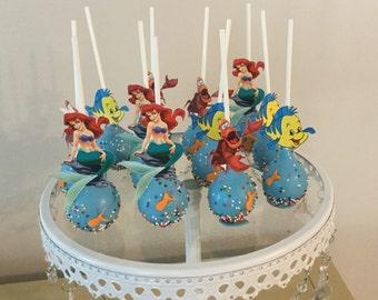 Mermaid cake pops etsy for Pops fish market