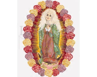 Dolly Parton Celebrity Prayer Candle Patron Saint of East Tennessee