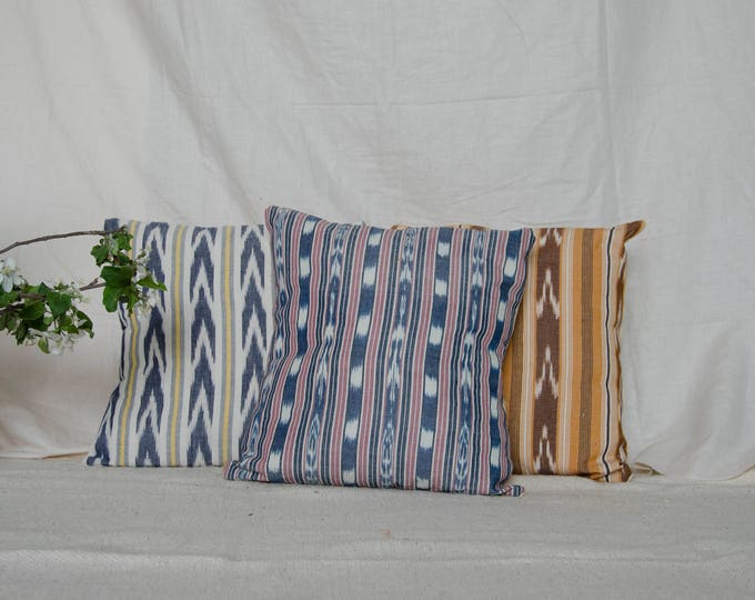 "Decorative cushion cover 18 x 18"" Guatemalan fabrics"