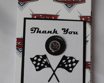 Cars Party Favor Notebooks, set of 4