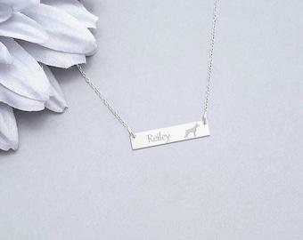 Doberman Necklace, Dog Charm, Pet Pendant, Doberman Jewelry, Dog Lover Gift, Pet Necklace, Doberman Charm