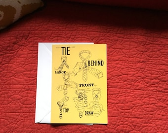 How to Tie a Knot Card