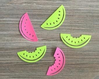 Watermelon Confetti, One in a Melon First Birthday Confetti, Baby Shower Confetti, Tutti Frutti Confetti, Summer Confetti, Fruit Confetti
