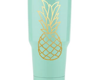 Pineapple Design | Summer Design | Cut File | Silhouette | Cameo | Cricut | Vector | SVG | DXF | PNG