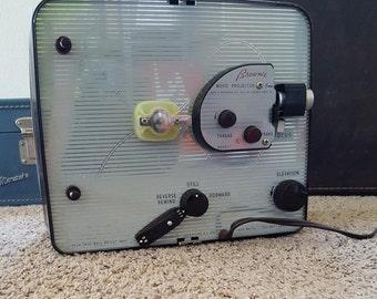 Working - Vintage Kodak Brownie 500 - 8mm Movie Projector -Retro- 1950's