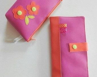 checkbook holder / wallet / cards holder