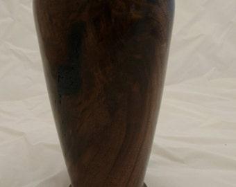 Black Walnut Vase #273