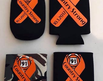 Route 91 Harvest Can and Bottle Coozies