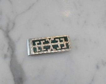Vintage Malachi Money Clip