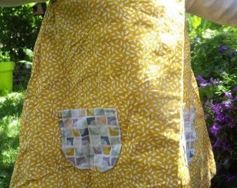 Robe trapèze personnalisée en coton