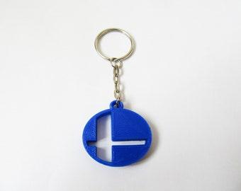Super Smash Bros Keychain