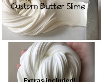 Custom Butter Slime 2oz