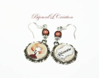 Custom and mismatched earrings dreamy
