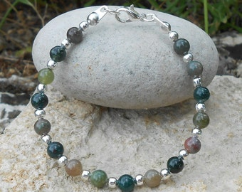Child bracelet Indian agate beads