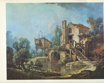 The mill Charenton according François BOUCHER