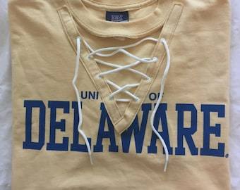 Lace Up Delaware Tee