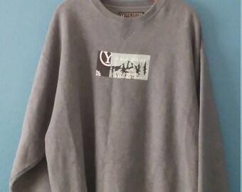 Yosemite sweatshirt, vintage sweatshirt, unisex sweatshirt, grey sweatshirt