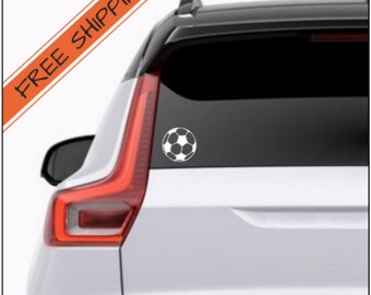 Soccer Ball Decal - Soccer Decal - Vinyl Wall Decal - Window Decal - Cup Decal - Laptop Decal - Vinyl Decal - iPad Decal - Car Decal - Gift