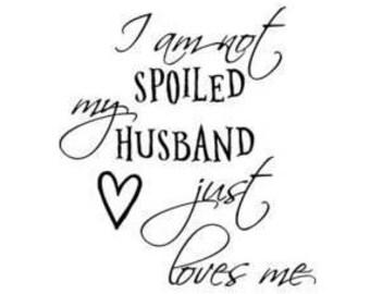Husband loves me