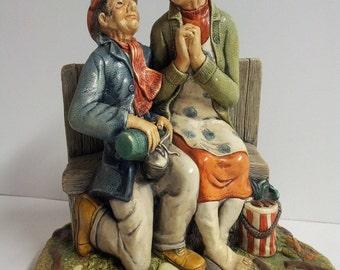 Naturecraft Congleton England Celebration Figurine Hand Sculpted Painted