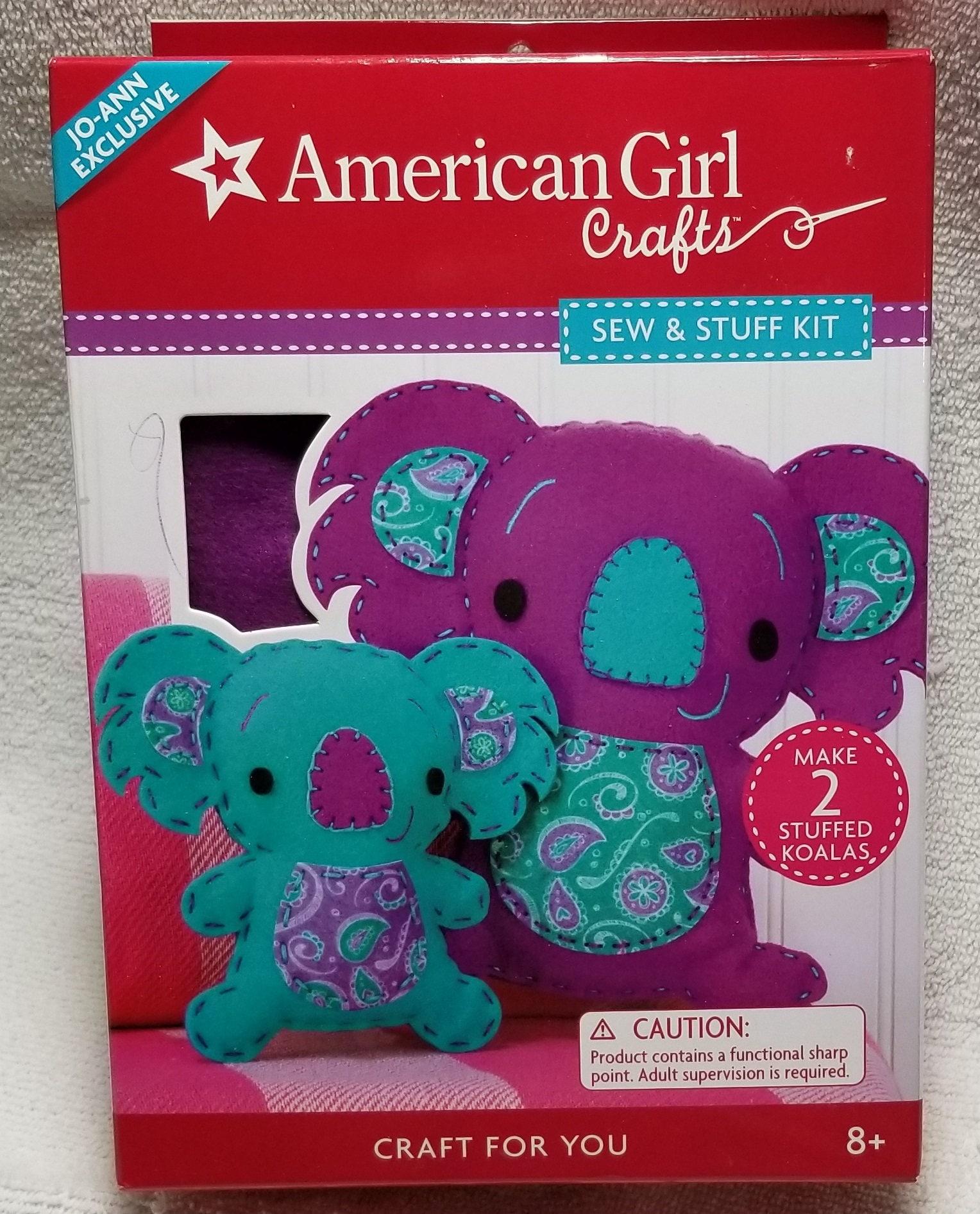 American girl crafts sew and stuff koala bear kit gift for American girl craft kit
