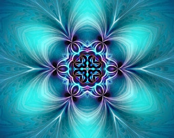 Mandala peace, Serenity