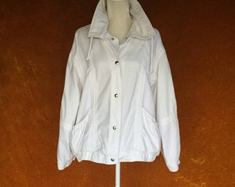 Vintage 1990s White Norm Core Jacket